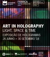 Art in Holography: Light, space & time